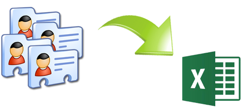 Convert vCard to Excel with details like suffix, name